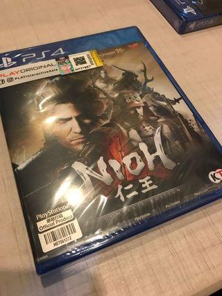 PS4 Nioh Complete Edition