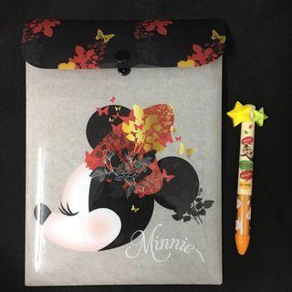 米妮 Minnie Mouse 信紙套裝