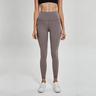 (免運) 高質量經典高腰提臀瑜珈褲