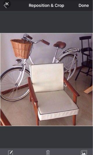 Vintage teakwood chair