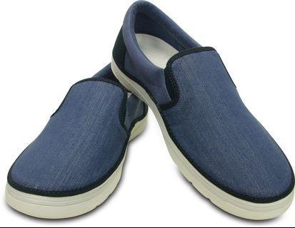 Crocs Norlin Canvas Slip-On Sneakers (💯 Authentic)