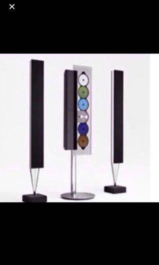Beosound 9000 with beolab 8000