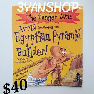 The Danger Zone Avoid becoming an Egyptian Pyramid Builder (99%new)--- $40