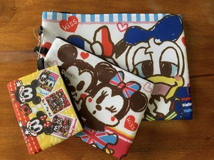 Mickey pouch set