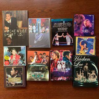 Hacken Lee 李克勤 the Wynners 溫拿樂隊 左麟右李 陳百祥 cd Dvd Blu-ray