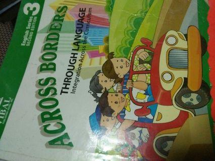 Across Borders through Language 3 - Grade 3 books