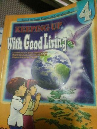 Keeping Up with Good Living 4 - Grade 4 Books