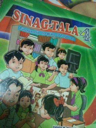 Sinag-Tala 4 - Grade 4 books