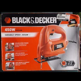 Black&Decker Jigsaw (450W) $50