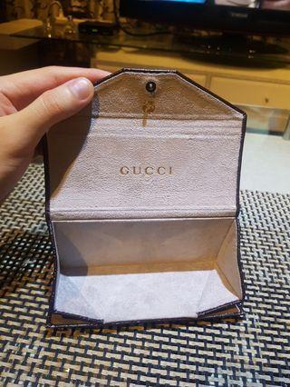Gucci 摺疊眼鏡盒 9.9成新