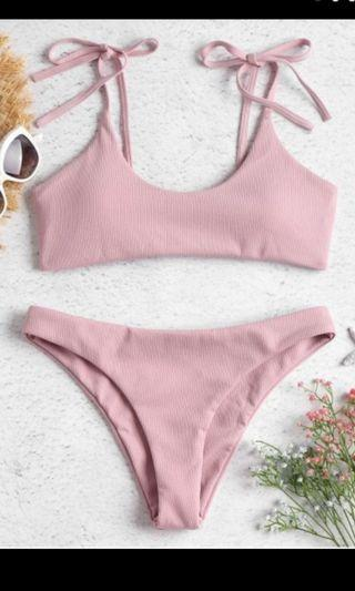 Baby Pink Bikini Set