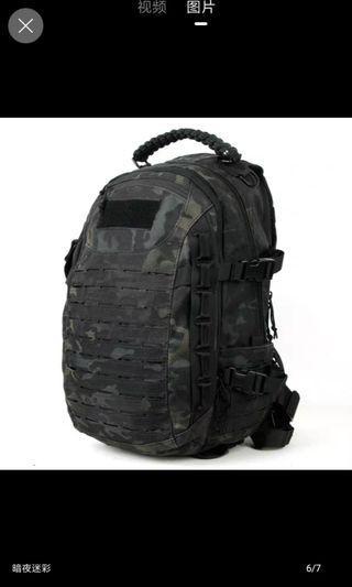 Tactical Black DigiCamo Backpack