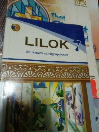 Lilok 7 - Grade 7 books