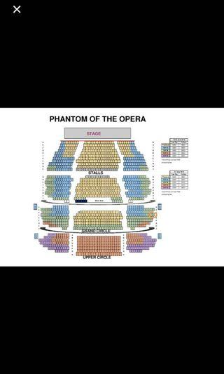 Looking for the phantom of opera