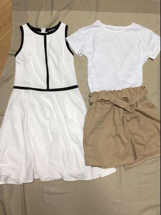 $50 Ladies Dress and shorts in perfect condition!