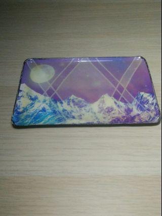 FREE: Vintage style purple enamel key tray