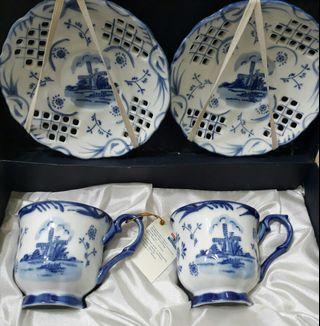 🚚 經典古代風茶杯組