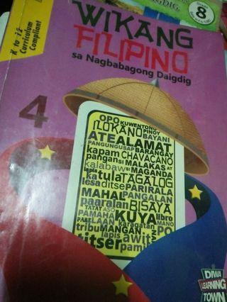 Wikang Filipino sa Nagbabagong Daigdig 4 - Grade 4 books