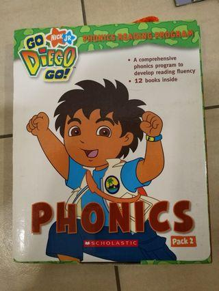 Go-Diego-Go Phonics Reading Program