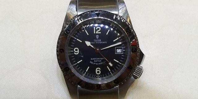 古董TUDOR自動潛水錶