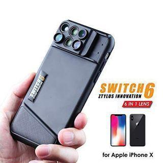 Ztylus Switch 6 for Apple iPhone X/XS 六鏡頭機殼
