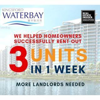 Having Problems leasing your Kingsford Waterbay?