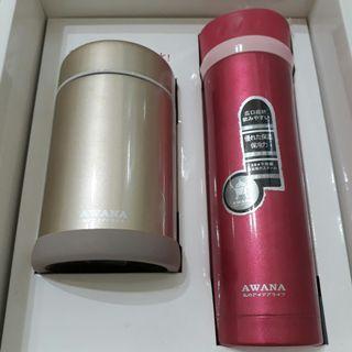 🚚 AWANA不鏽鋼真空保溫瓶組
