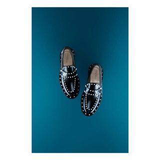 真皮樂福鞋