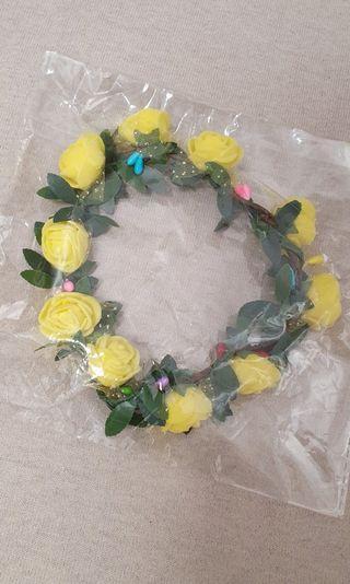 20cm Doll Flower Headband