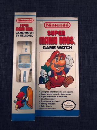 Nintendo Super Mario Bros Game Watch (1989 by Nelsonic)