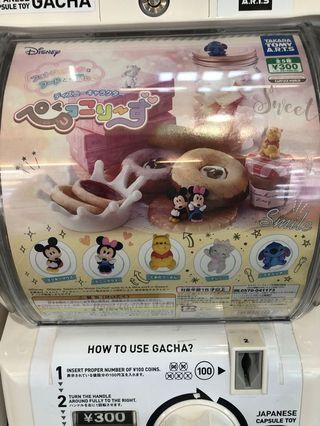 Disney 迪士尼 有維尼熊 Winnie the Pooh 想換史迪仔 扭蛋