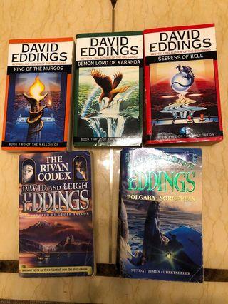 🚚 David Eddings books (paperback)