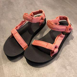 TEVA 粉紅機能織帶涼鞋 suicoke wisdom goopie niko and groovy