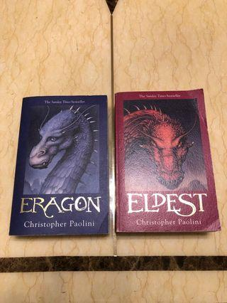 🚚 Inheritance Books 1 & 2 (by Christopher Paolini)