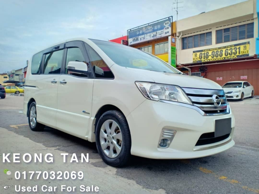 2013TH Nissan SERENA 2.0 S-HYBRID HIGHWAY STAR (A)Family Carking!!🎉Rm71,500💰OffersPrice‼