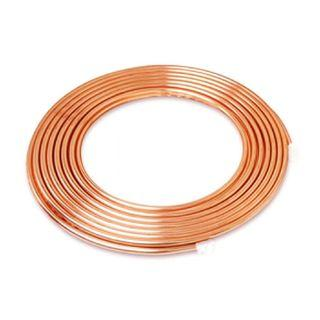 Kembla 6mm x 1.0mm x 15m Copper Coil Pipe Air Conditioner Tube Refrigeration