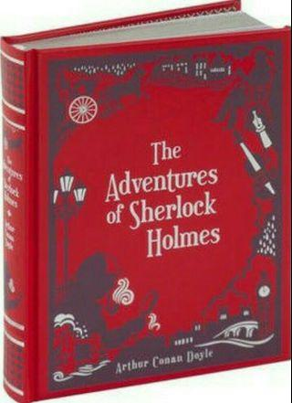 The Adventures of Sherlock Holmes (Barnes & Noble Collectible Editions) Leatherbound