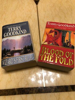 🚚 Terry Goodkind books