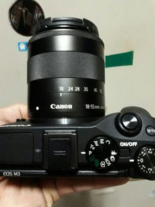 🚚 canon eos M3 + 18.55mm