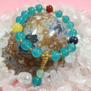 DIY Amazonite Bracelet with Charm
