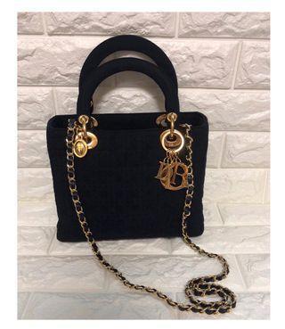 💯 % Real ❤️Lady Dior Vintage Bag❤️