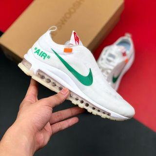 Nike Air Max 97 x Off White Ow 聯名氣墊跑鞋