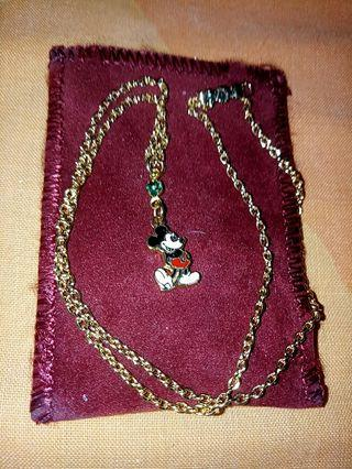 Mickey Mouse necklace US