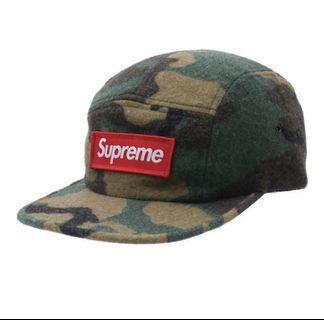 WTS Supreme Camo Wool Cap