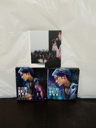 李克勤CD's $120@三隻