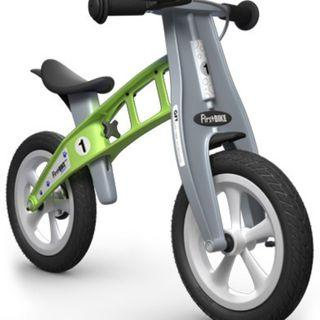 First Bike Balance Bike, green