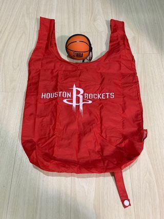 🚚 火箭隊 聯名購物袋 可裝在球裡面當鑰匙圈