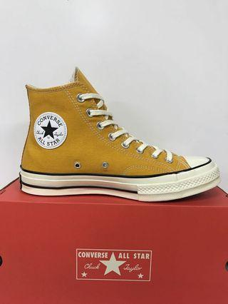 CONVERSE CT AS 70 HI BLACK AND SUNFLOWER