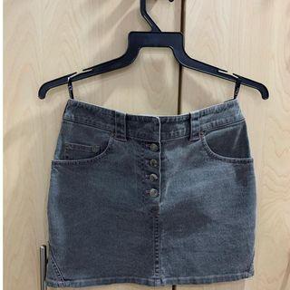 Authentic Christian Dior Denim mini skirt