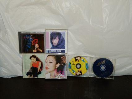 鄭秀文CD's $150全部